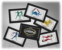 MOTTA - Bustine Zucchero - Pomilia Zuccheri GDO & Torrefattori