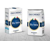 Zucchero 1Kg - Blu Italia - PomiliaZuccheri.it